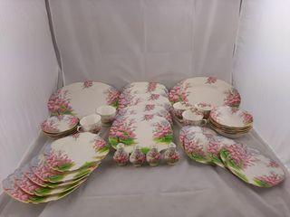 36 Piece Royal Albert  blossom Time  Set
