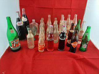 Pepsi Cola  Coca Cola  Crush  7up  Canada Dry