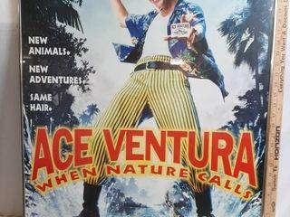 Jim Carry Ace Ventura Movie Poster