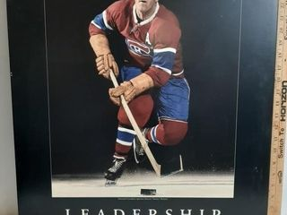 Maurice Richard leadership 22  X 28  Poster