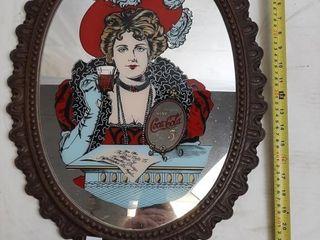 Coca cola Vintage Mirror Art