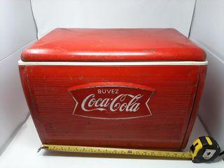 Vintage Coca cola Cooler 20  X 13  X 14 1 2