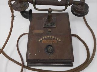 Antique Telephone Made In Britain