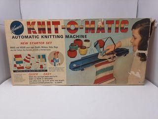 Knit o matic Automatic Knitting Machine