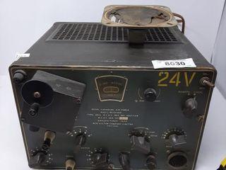 Antique Rcaf Radio Receiver Manufactured In 1942