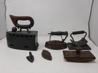 Vintage Ironing Equipment