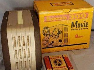 Brownie 300 Movie Projector In Original Box