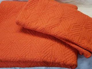 King Size Cotton Quilt   Pillow Shams