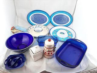 Serving Trays  Casserole Pan  Bowls  Etc