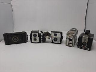 Camera lot With Kodak Jiffy  Kodak Brownie