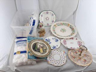 Royal Doulton Serving Plate  Cotton Balls