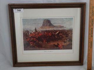 Battle Of Isandhlwana Print