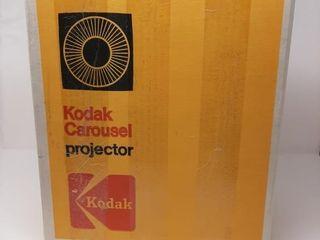 Kodak Carousel Projector In Box