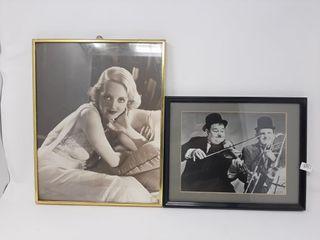 Pair Of Early Twentieth Century Celebrity Photos