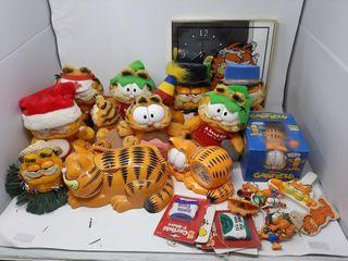 Garfield Plush And Merchandise lot