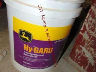5 gal JD trans hyd oil  PARTIAl
