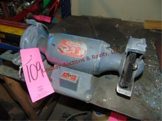 Dayton 173  3 4  bench grinder  BRING TOOlS TO