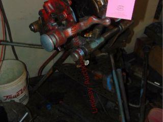 Rigid pipe threader  cutter  reamer  tripod w