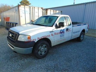 2008 Ford F150 truck  4 2 eng  auto  cloth int