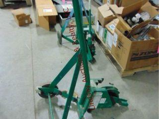 Greenlee 1800 mechanical bender 1 2  3 4