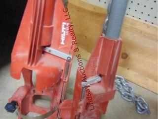 Hilti X PT GXR0  Hilti X PT 351 modular pole tools