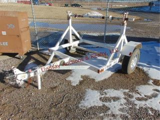 2012 Roose RR 33 S A  reel trailer 2  ball