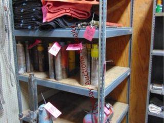 4 tier metal shelf NO CONTENTS 4  X 41  X 7