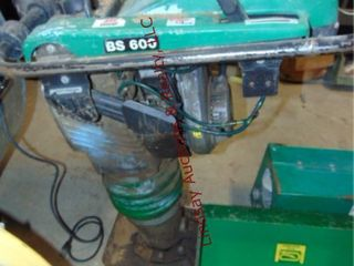 Wacker BS 600 gas pwrd tamper 2 9HP