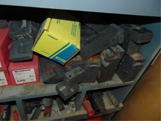 Group of thermal weld molds approx 20