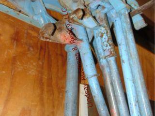 6 various size pipe benders