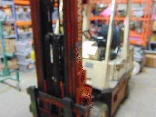 Nissan 50 Propane forklift  warehouse type