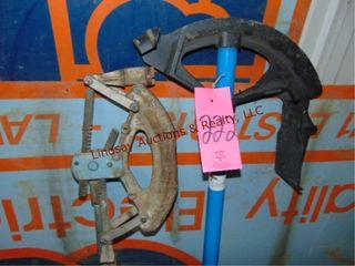 2 pipe benders   handles 1 1 4  to 1