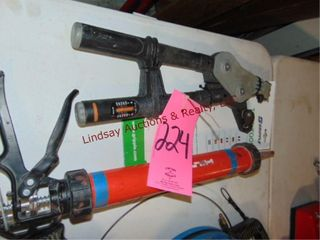 Gripple Torq tool   Hilti CS 270 P1 caulk gun
