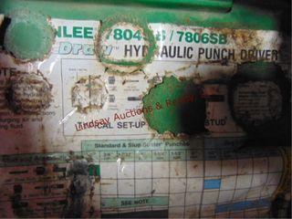 Greenlee hyd punch driver 7804SB 7806SB