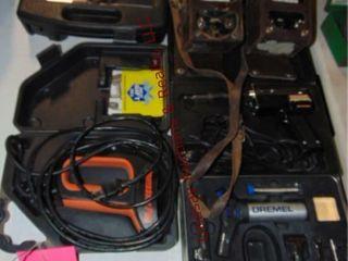 lot of  weller soldering gun  dremel model 2200