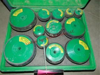 Greenlee 859 pvc plug set for 2  to 6  pvc pipe