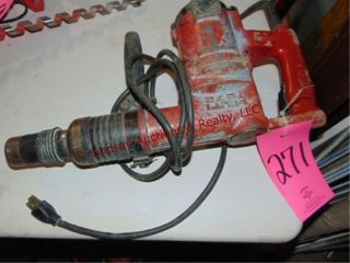 Hilti TE 72 elec hammer drill