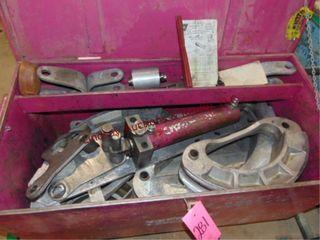 EEGOR hyd pipe bender in box SEE PICS