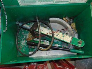 Greenlee 882 series hyd benders for 1 1 4  to 2