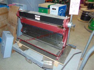 Central Machine 30  shear  press brake