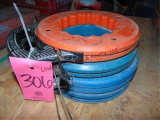 4 fish tape reels