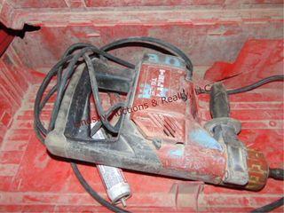 Milwaukee elec hammer drill w  case  MNBC