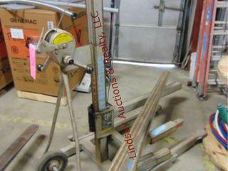 Vermette 512A manual material lift 500lb cap