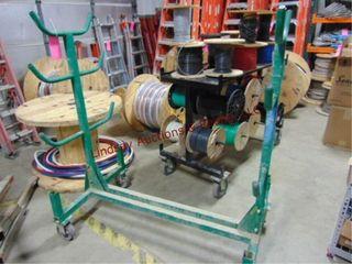 Greenlee 668 conduit   pipe rack on wheels