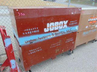 Jobox on whls 60x 30 x 57