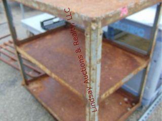 3 tier material cart 24 x 36 x 42