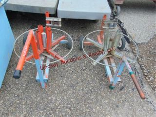 2 wire reel dollies