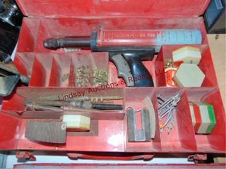 Hilti fastener w  case   other pcs MISSING CORD