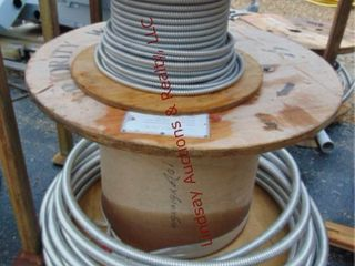 4 partial rolls of wire