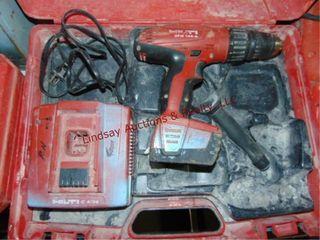 Hilti 14 4V cordless hammer drill w 1 battery